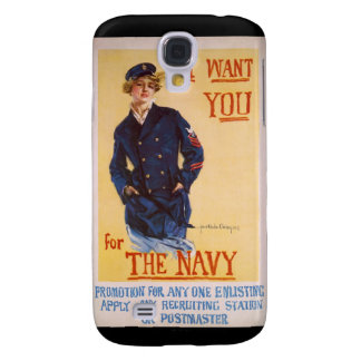 I Want You For The Navy World War I Recruiting Samsung Galaxy S4 Case