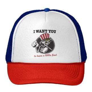 I WANT YOU!  Mother Truckin' Cap