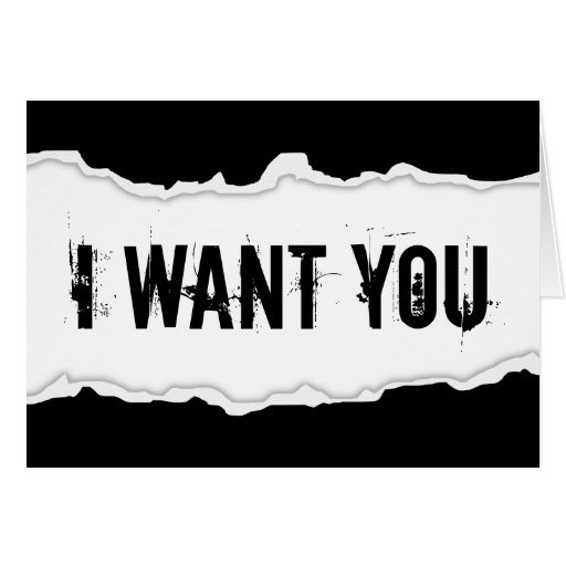 i want you page rip cards
