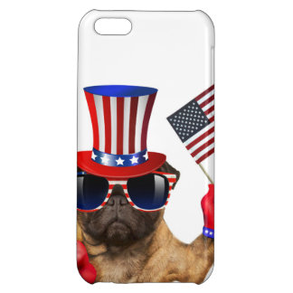 I want you ,pug ,uncle sam dog, case for iPhone 5C