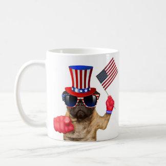 I want you ,pug ,uncle sam dog, coffee mug