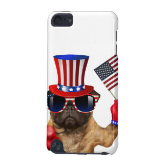 I want you ,pug ,uncle sam dog, iPod touch (5th generation) cases