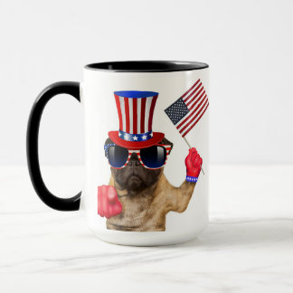 I want you ,pug ,uncle sam dog, mug