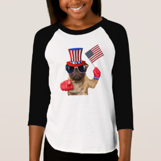 I want you ,pug ,uncle sam dog, T-Shirt