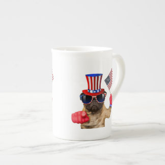 I want you ,pug ,uncle sam dog, tea cup