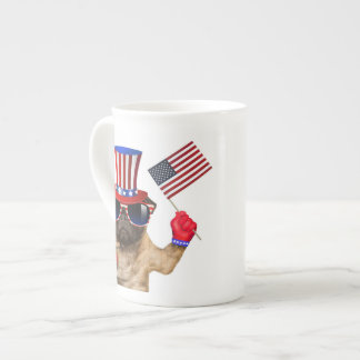 I want you ,pug ,uncle sam dog, tea cup