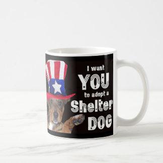 I Want YOU To Adopt A Shelter Dog Mug