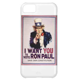 I Want You To Vote For Ron Paul Revolution Case For iPhone 5C