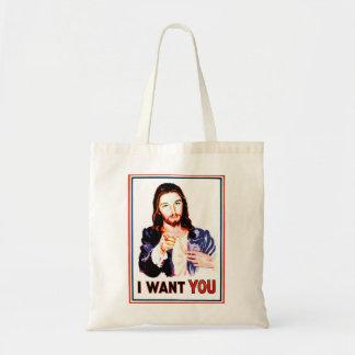 I WANT YOU BUDGET TOTE BAG
