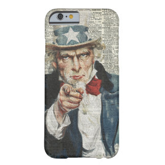 I Want You Uncle Sam Barely There iPhone 6 Case