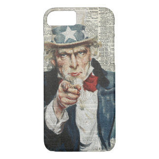 I Want You Uncle Sam iPhone 7 Case