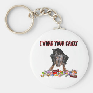 I Want Your Candy Keychain Basic Round Button Keychain