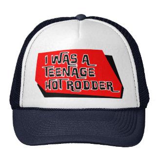 I was a Teenage Monster Hot Rodder Cap