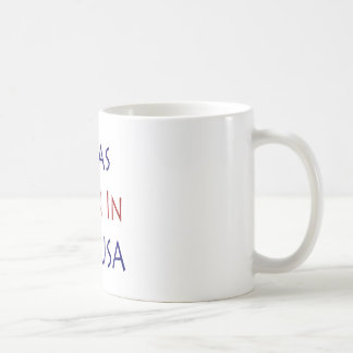 I Was Born In The USA Coffee Mugs