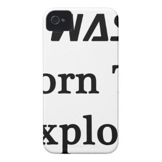I Was Born To Explore iPhone 4 Case-Mate Case