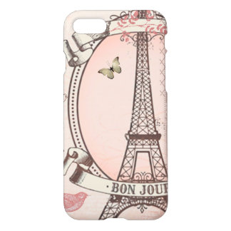 I Was Born to Live in Paris iPhone 7 Case