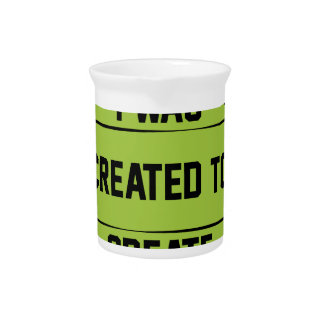 I was created to create pitcher