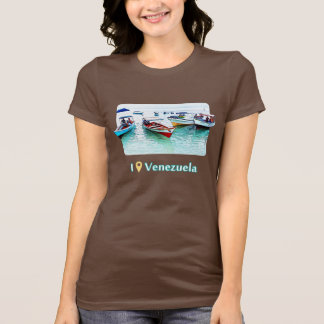 I was in Venezuela: Fisher boats in Mochima T-Shirt
