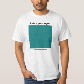 I was never able to see the sailboat - can you? T-Shirt