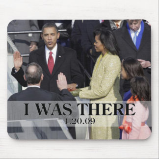 I WAS THERE: Obama Swearing In Ceremony Mouse Mat