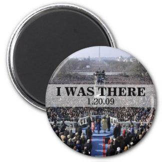 I WAS THERE: President Obama Inauguration Fridge Magnet