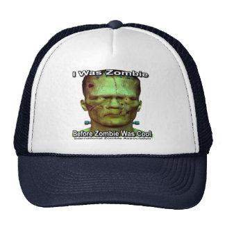 I Was Zombie Trucker Hats