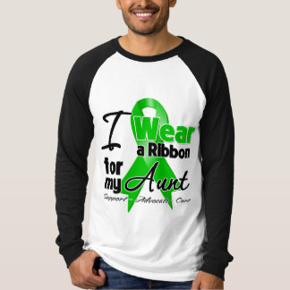 I Wear a Green Ribbon For My Aunt Tees