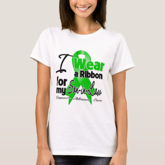 I Wear a Green Ribbon For My Son-in-Law T-Shirt