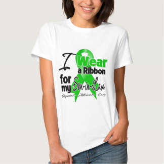 I Wear a Green Ribbon For My Son-in-Law Tees