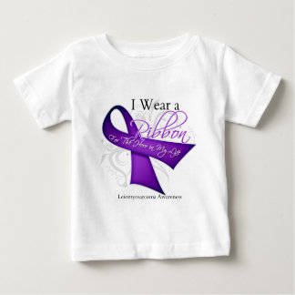 I Wear a Ribbon For My Hero - Leiomyosarcoma Tee Shirt
