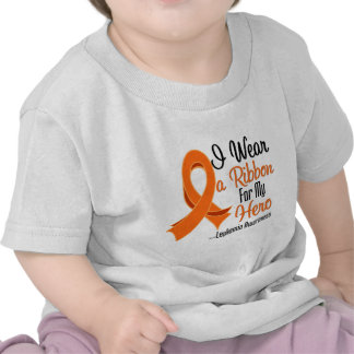 I Wear a Ribbon For My Hero - Leukemia Tees