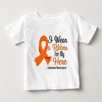 I Wear a Ribbon For My Hero - Leukemia Tshirt