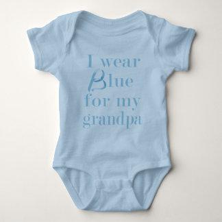I wear blue... baby bodysuit