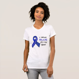 I Wear Blue e for my Son CFS Shirt