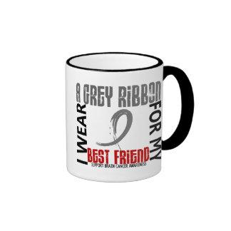 I Wear Grey For My Best Friend 46 Brain Cancer Mugs