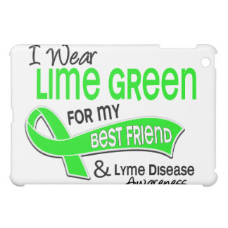 I Wear Lime Green 42 Best Friend Lyme Disease Cover For The iPad Mini