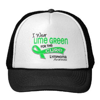 I Wear Lime Green 42 Cure Lymphoma Trucker Hat