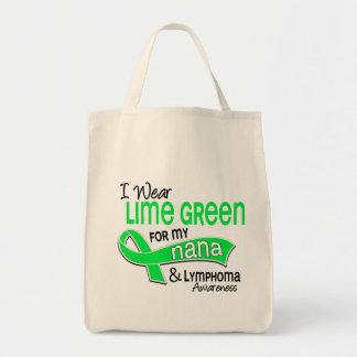 I Wear Lime Green 42 Nana Lymphoma Bags