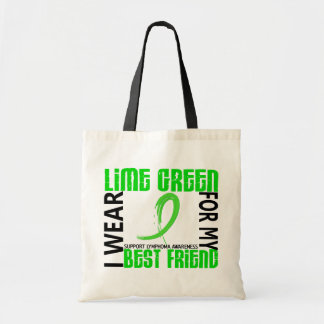 I Wear Lime Green For My Best Friend 46 Lymphoma Bag