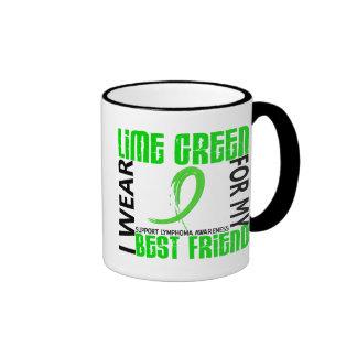 I Wear Lime Green For My Best Friend 46 Lymphoma Mug