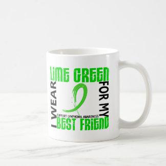 I Wear Lime Green For My Best Friend 46 Lymphoma Coffee Mug