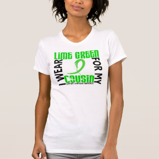 I Wear Lime Green For My Cousin 46 Lymphoma Tshirt
