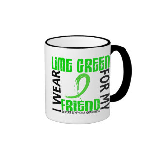 I Wear Lime Green For My Friend 46 Lymphoma Coffee Mugs