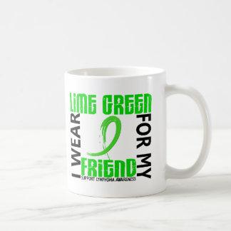 I Wear Lime Green For My Friend 46 Lymphoma Coffee Mug