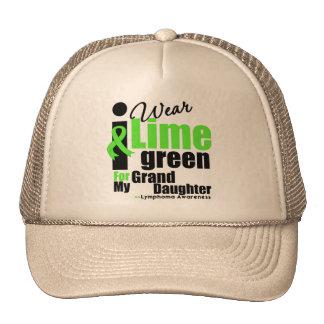 I Wear Lime Green For My Granddaughter Trucker Hat