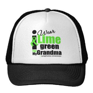 I Wear Lime Green For My Grandma Trucker Hats