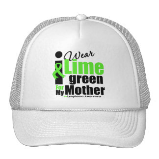 I Wear Lime Green For My Mother Trucker Hat
