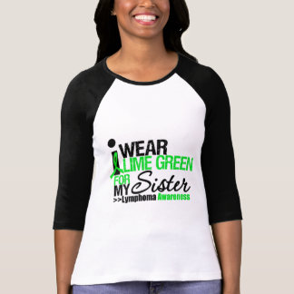 I Wear Lime Green For My Sister Tshirts