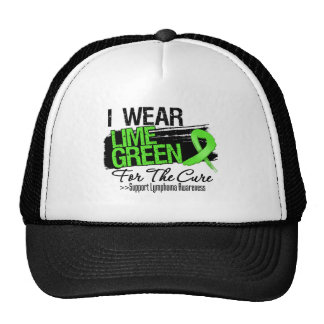 I Wear Lime Green For The Cure - Lymphoma Cap