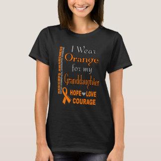 I Wear Orange for...Granddaughter T-Shirt